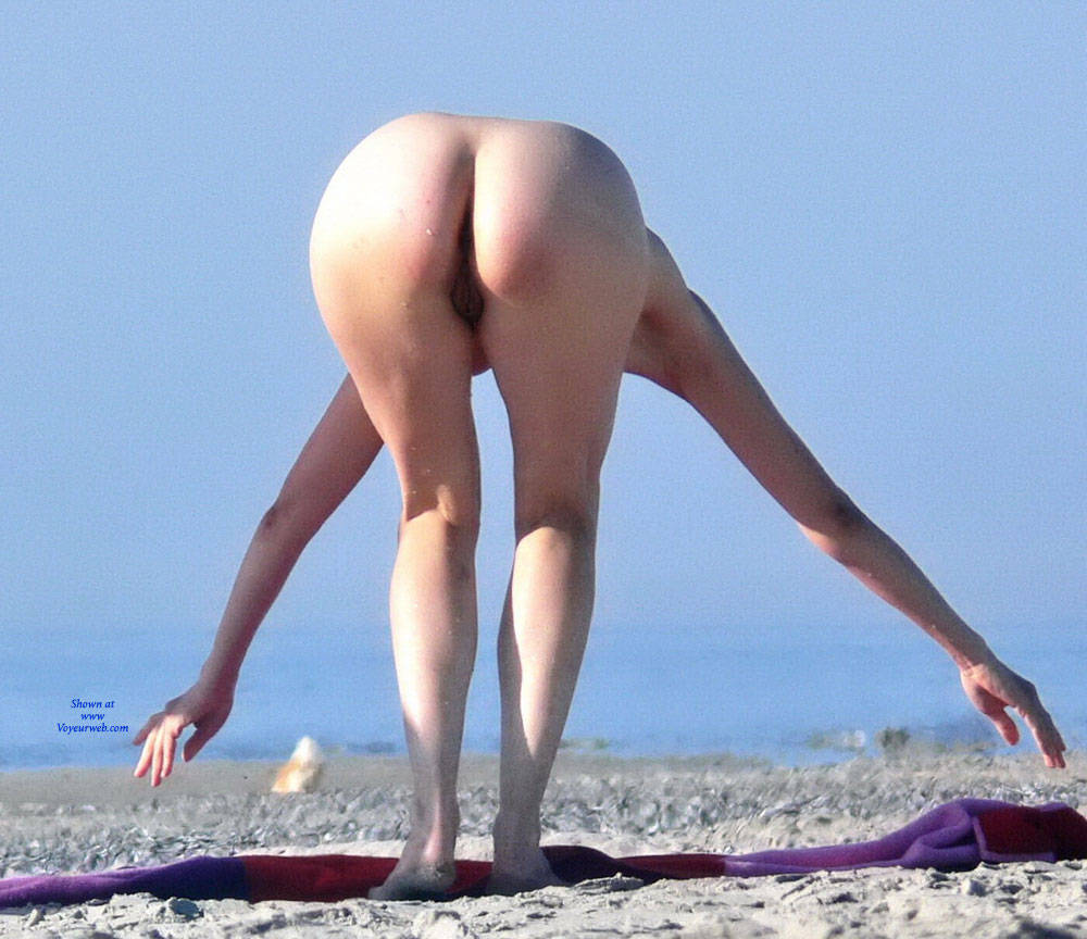 Pic #5 Warm Summer - Nude Girls, Big Tits, Brunette, Outdoors, Beach Voyeur