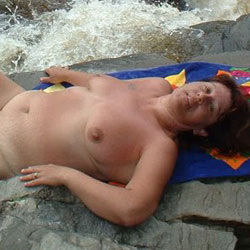 Naturiste  - Nude Wives, Big Tits, Outdoors, Nature