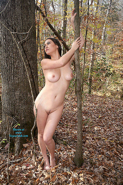 in Woods Naked the