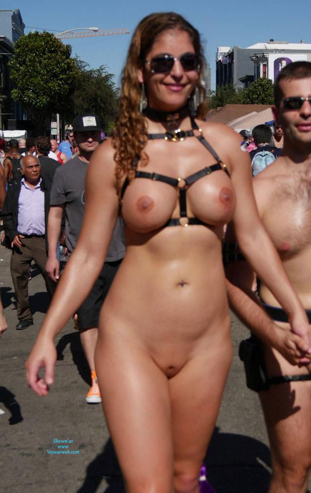 public Naked folsom street