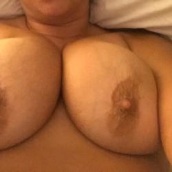 My very large tits - Beach Babe