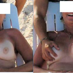 Large tits of my girlfriend - Eaton