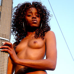Sunset Towers - Nude Girls, Ebony, Outdoors, Body Piercings