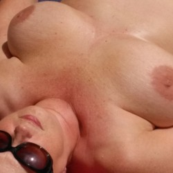 Large tits of my wife - Christy