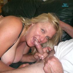 Nice Looking Milf - Big Tits, Blonde, Blowjob, Amateur