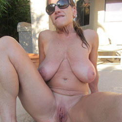 Pool Sex For Ya All - Big Tits, Outdoors, Shaved, Amateur