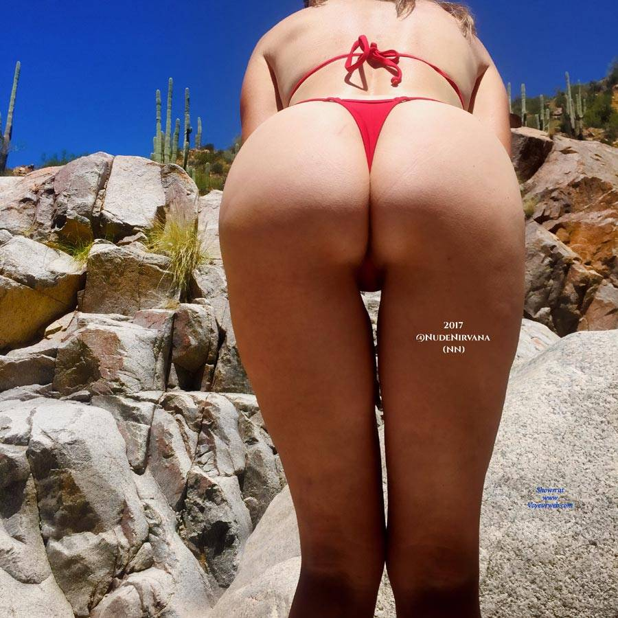 Pic #2 Oasis In The Desert - Nude Wives, Outdoors, Shaved, Nature