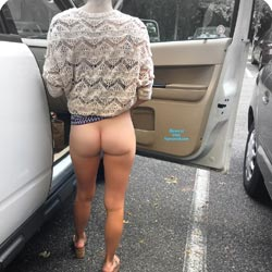 Road Trip - Public Exhibitionist, Flashing, Outdoors, Public Place, Shaved, Firm Ass