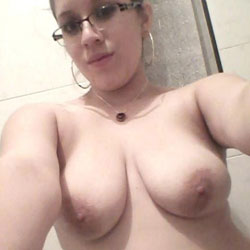 Alone - Big Tits, Brunette, Amateur