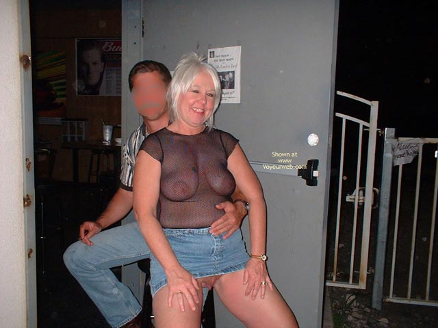Pic #3 - Tammy Having Fun With Male Friends