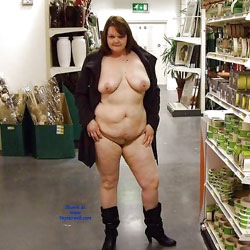 Carol Wants Exposure - Big Tits, Public Exhibitionist, Flashing, Public Place, Shaved