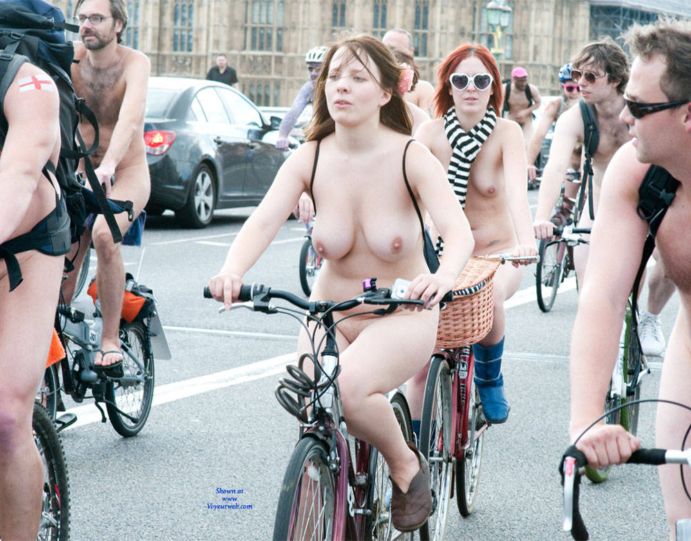 Naked bike ride big tits