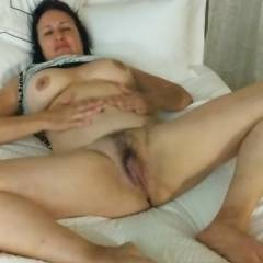Open Wide And Say Aahh - Big Tits, Brunette, Masturbation, Toys, Bush Or Hairy, Amateur