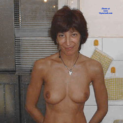 My Wife And Slut Alessandra  - Nude Wives, Big Tits, Brunette, European And/or Ethnic, Amateur