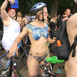 WNBR London 2017 - Nude Amateurs, Outdoors