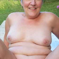 Happy Father's Day! - Nude Wives, Big Tits, Cumshot, Outdoors, Penetration Or Hardcore, Bush Or Hairy, Pussy Fucking