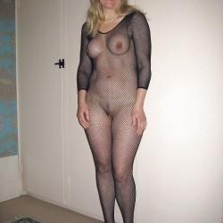 Medium tits of a neighbor - Helen