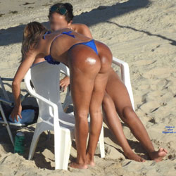 Big Ass From Recife City, Brazil - Outdoors, Bikini Voyeur, Beach Voyeur