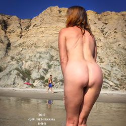 No Bikini Necessary - Nude Wives, Beach, Outdoors, Shaved