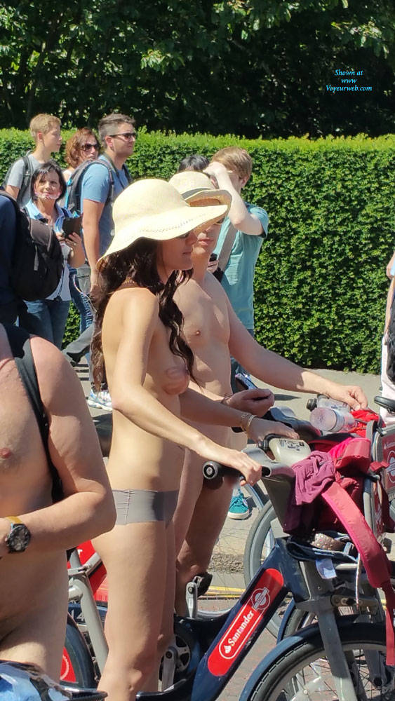 Nude Bike Ride London 2017 - June, 2017 - Voyeur Web-2976