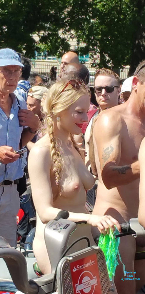 Topless Dutch Naked Bicycle Photo Pictures