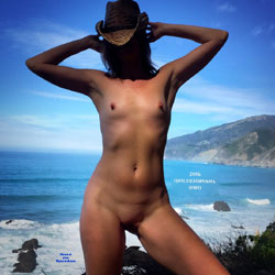 Big Sur Surprise - Nude Wives, Outdoors, Small Tits, Amateur, Shaved