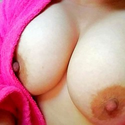 Large tits of my wife - NHWife