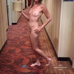 Hotel Hallway Surprise - Nude Wives, Public Exhibitionist, Flashing, Public Place, Amateur, Shaved