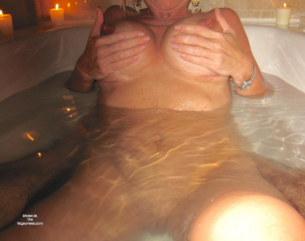 Brunette wife 34d tits
