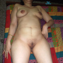 Lying Down - Nude Amateurs, Big Tits, Bush Or Hairy