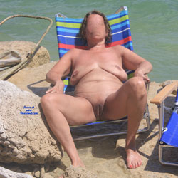 Bumpster At Hippie Hollow - Nude Amateurs, Beach, Big Tits, Mature, Outdoors, Shaved