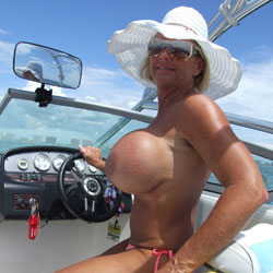 Chrissy Barbie Gets An Upgrade - Topless Girls, Big Tits, Outdoors