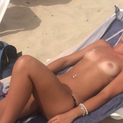 Small tits of a neighbor - Carla