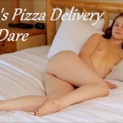 Beth's Pizza Delivery Boy Dare, EC Version - Nude Girls, Brunette, Small Tits, Bush Or Hairy, Firm Ass