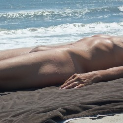 Medium tits of my wife - Beach girl