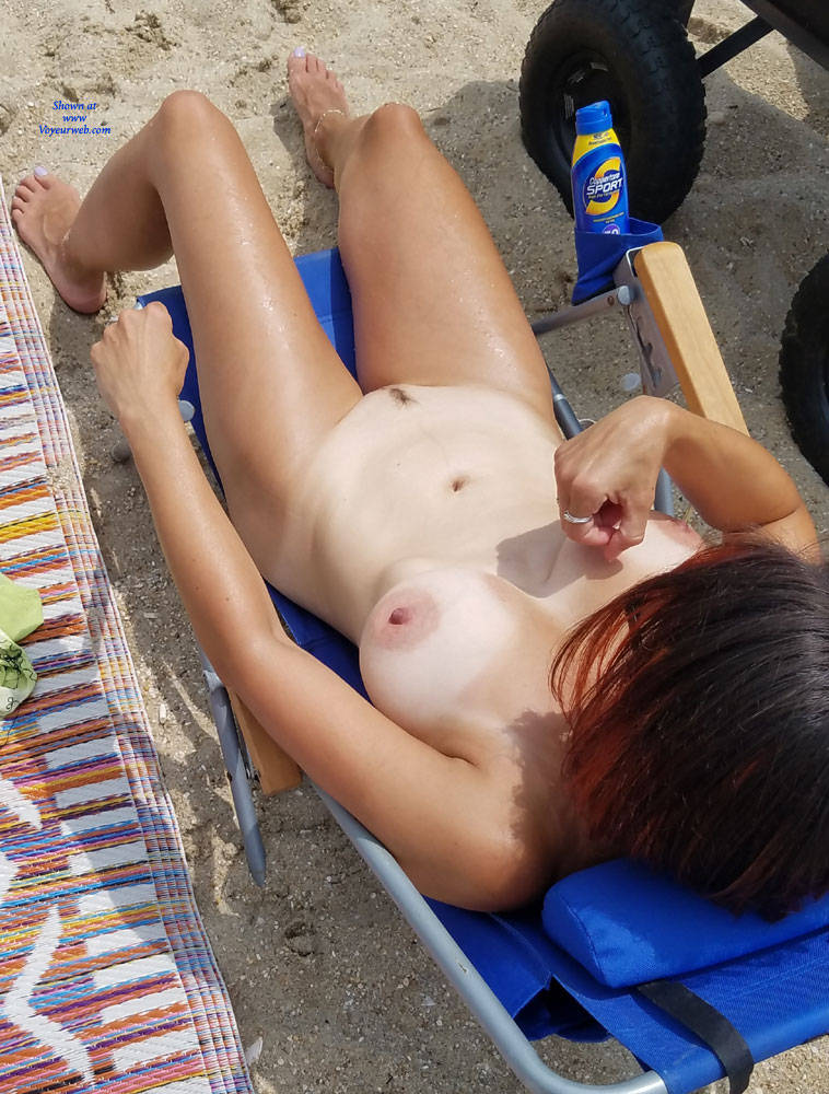 First Time At Nude Beach - July, 2017 - Voyeur Web-4198