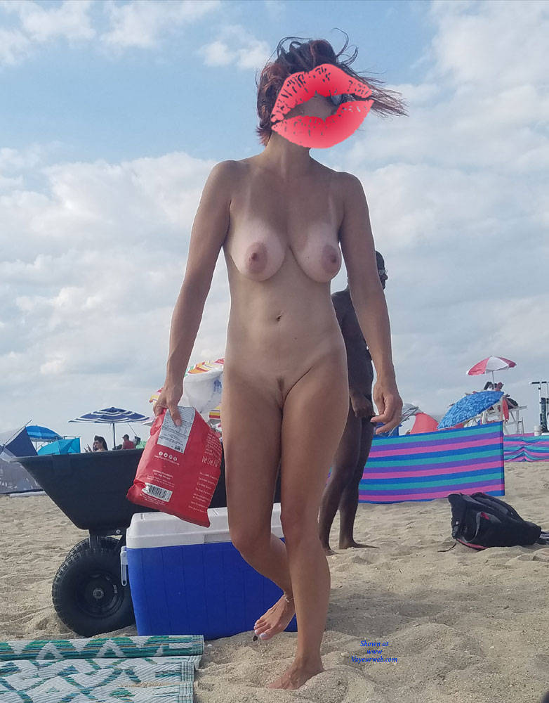 First time on a nudist beach