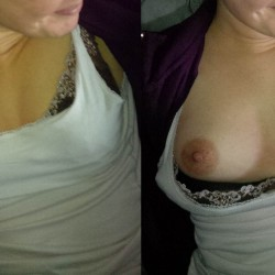 Small tits of a co-worker - Pixie