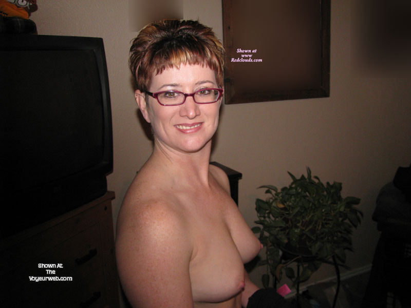 Pic #1 Medium tits of my wife - Redhot