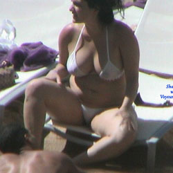 Hard Rock - Big Tits, Outdoors, See Through, Bikini Voyeur