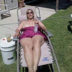 Backyard - Big Tits, Outdoors, Amateur