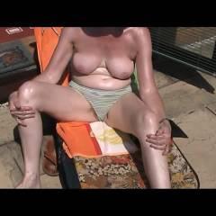 Enjoying The Sun - Nude Amateurs, Big Tits, Outdoors, Bush Or Hairy