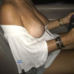 Driving - Big Tits, Amateur