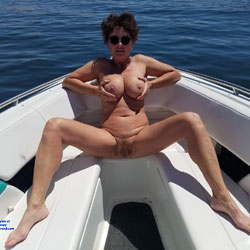 Boating Fun 65 - Nude Amateurs, Big Tits, Brunette, Outdoors