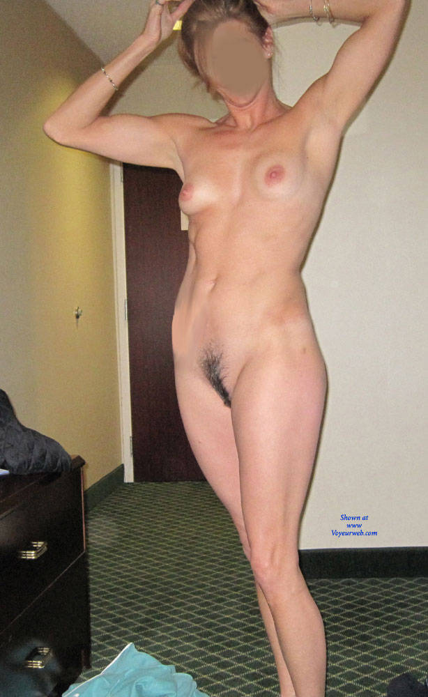Wife nude at bar