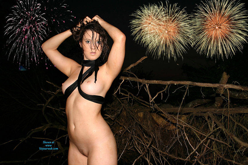 Fireworks in pussy