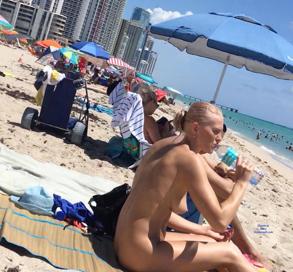 Pic #3 Haulover Beach July 2017 - Nude Girls, Outdoors, Beach Voyeur