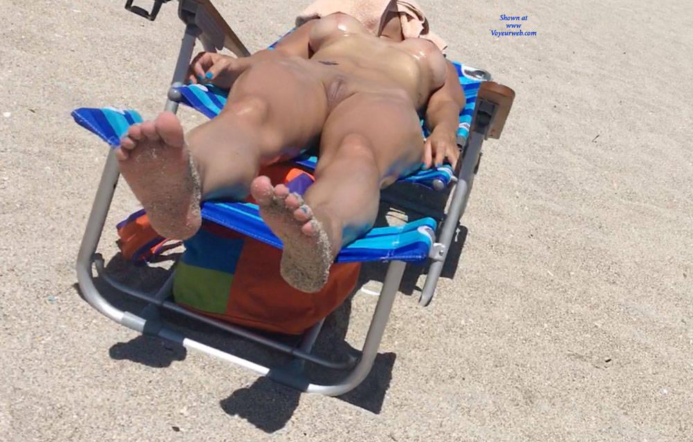 Pic #4 Haulover Beach July 2017 - Nude Girls, Outdoors, Beach Voyeur