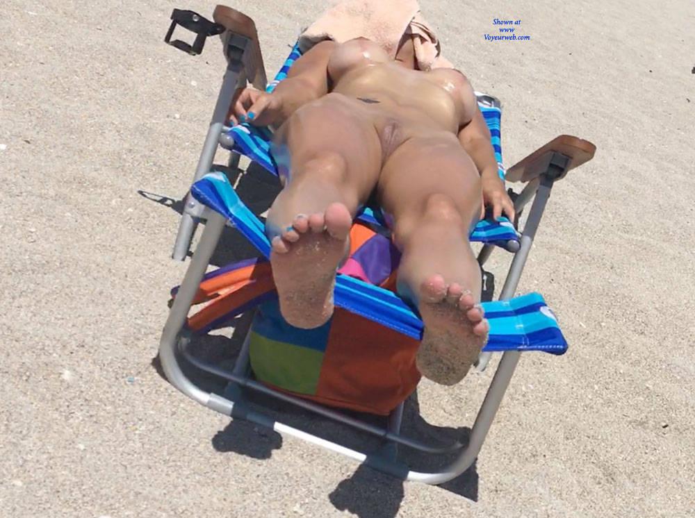 Pic #5 Haulover Beach July 2017 - Nude Girls, Outdoors, Beach Voyeur