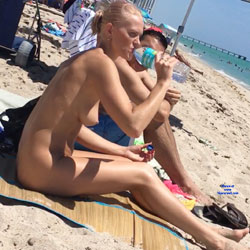 Haulover Beach July 2017 - Nude Girls, Outdoors, Beach Voyeur